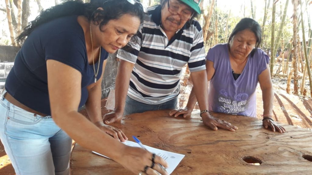 Kooperationsvereinbarung RdN mit den Kaiowá, Dourados Jaguapiro